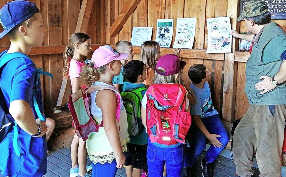 <BZ-FotoAnlauf>Ferienprogramm Eichen:<...b es für die Kinder eine Schatzsuche.   | Foto: privat