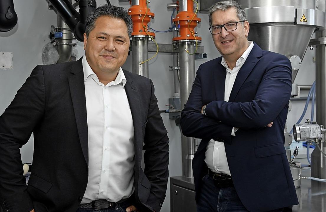 Sie bilden  die neue Spitze der Heiter...Steve Döring (l.) und Karsten Zastrow.    Foto: Volker Münch