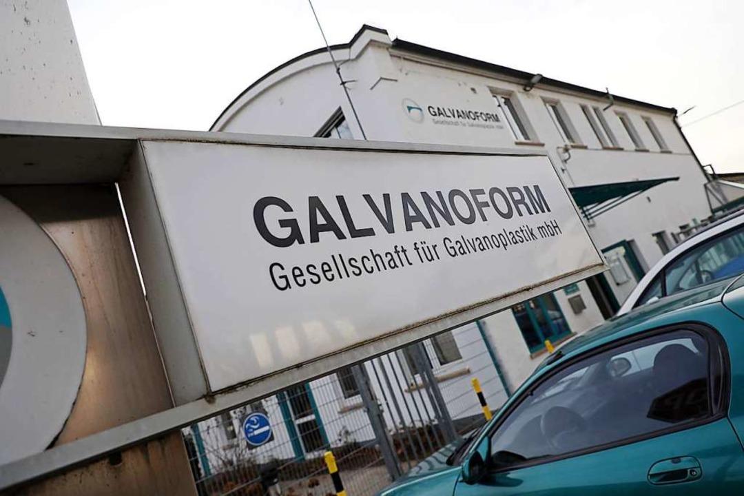 Galvanoform mit Sitz in der Raiffeisenstraße stellt Präzisionswerkzeuge her.    Foto: Christoph Breithaupt