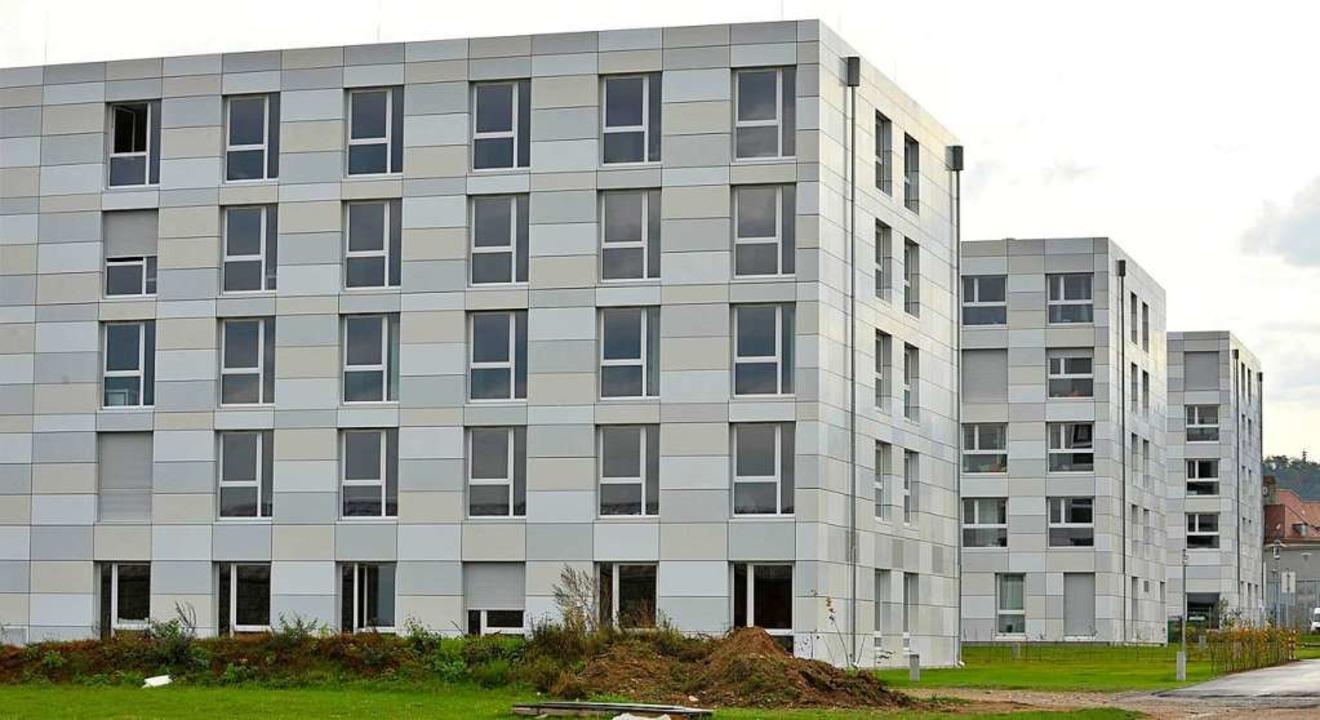 Das Studentenwohnheim am Campus in Freiburg  | Foto: Michael Bamberger