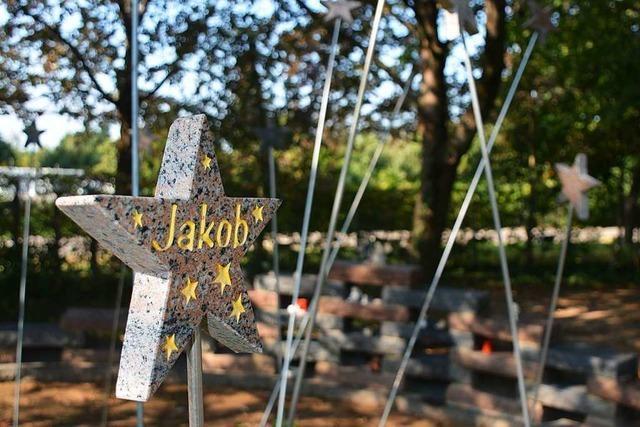 Seit 16 Jahren gibt es auf dem Weiler Hauptfriedhof ein Sternchenfeld