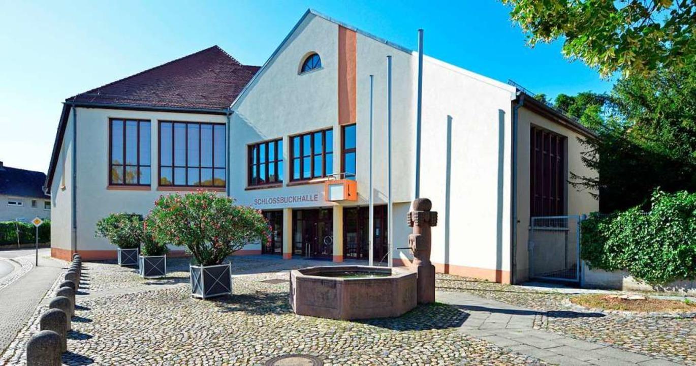 Corona-bedingt tagte der Munzinger Rat wieder in der Schlossbuckhalle.    Foto: Michael Bamberger