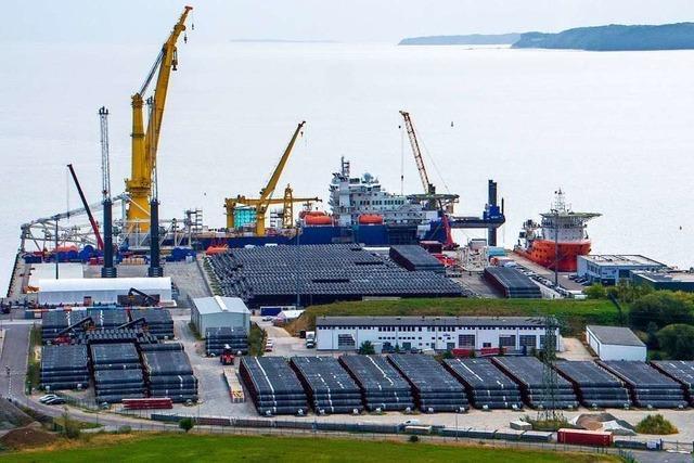 Nord Stream 2 – Rügen schaut in die Röhre