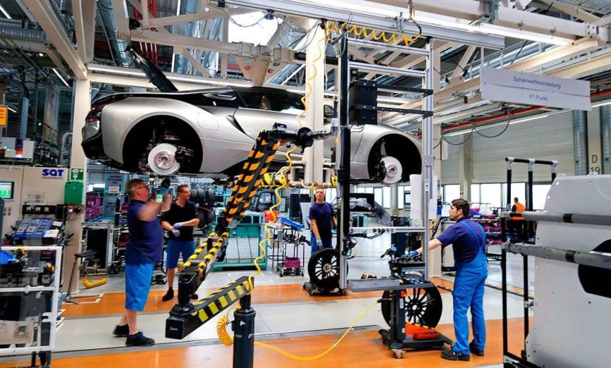 Die Automobilbranche befindet sich im Wandel.  | Foto: Sebastian Willnow