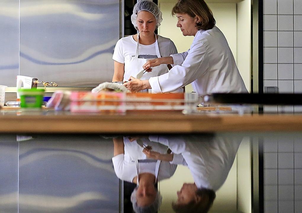Hauswirtschafterinnen sind in vielen v...end breit angelegt ist die Ausbildung.  | Foto: Marcel Kusch