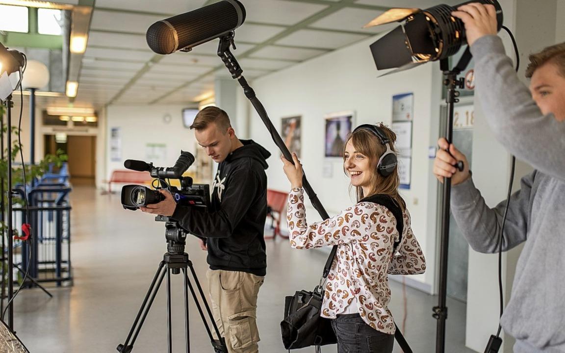 Das Tätigkeitsfeld der Mediengestalter...erschiedliche Wahlqualifikationen vor.  | Foto: Berlitz-Olle/BS 19