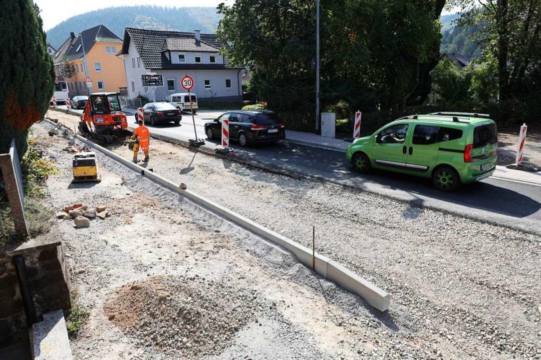 Seit Sommer 2019 wird auf der Reichenb...te Bauabschnitt dauert bis 9. Oktober.  | Foto: Christoph Breithaupt