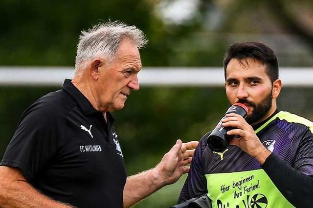 Bruddler mit Herz: Bernd Stammler ist seit 20 Jahren Betreuer beim FC Wittlingen