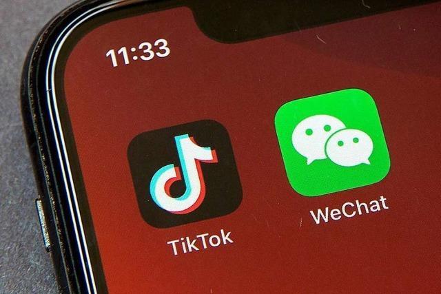 US-Regierung verbietet ab Sonntag das Herunterladen von Tiktok