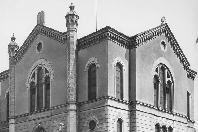 Jüdische Gemeinde feiert Einweihung der Alten Synagoge in Freiburg