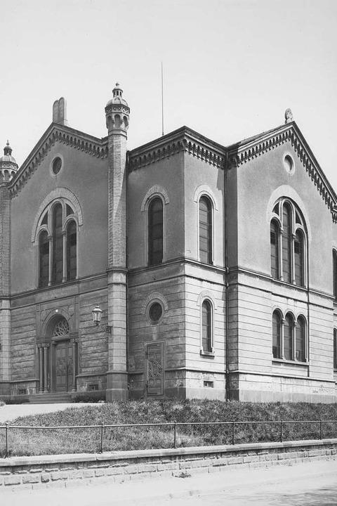 Die Alte Synagoge in Freiburg.  | Foto: Stadtarchiv Freiburg