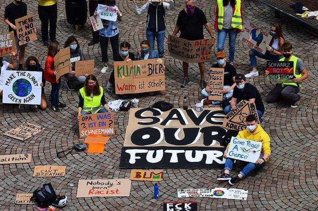 Beim Klima ist die Jugend Vorbild