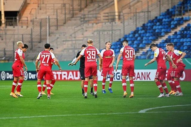 Der neue SC-Torwart Florian Müller könnte schon in Stuttgart spielen