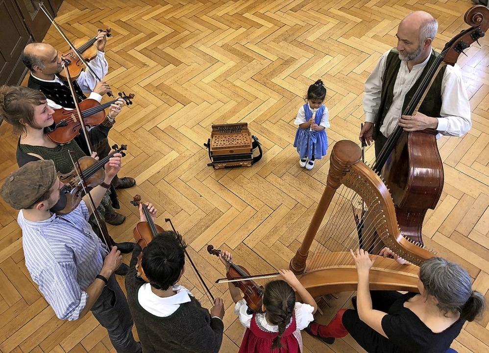 Volksmusik im klassischen Sinne – die Badische Bråtwurschtmusig  | Foto: Anna-Dorothea Witte-Rotter