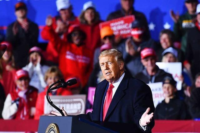 Donald Trumps Außenpolitik ist eine Inszenierung für den US-Wahlkampf