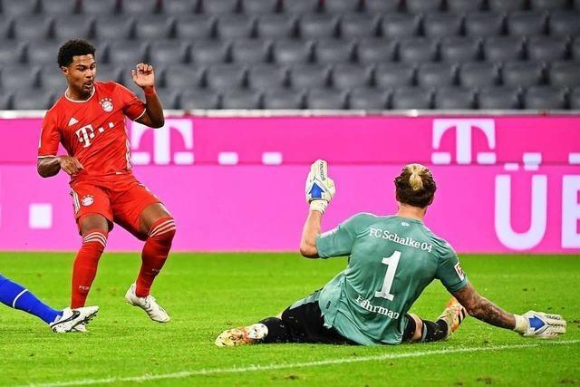 8:0-Gala ohne Fans: Unersättliche Triple-Bayern überrollen Schalke