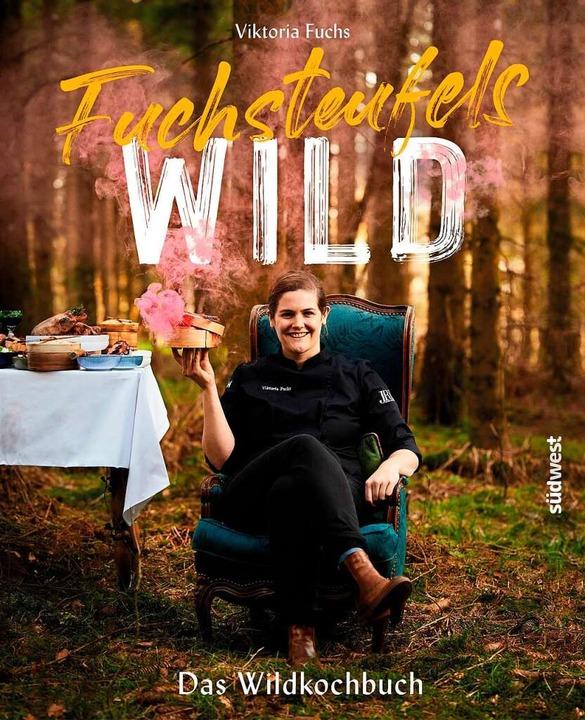 """Fuchsteufels-Wild"" lautet...oria Fuchs' neuem Wild-Kochbuch.  | Foto: Vivi d'Angelo/Südwest Verlag"