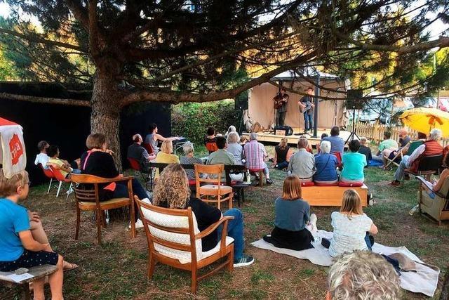 Folk im Freien: Die Herbstkonzerte der Klimperstube gehen weiter.