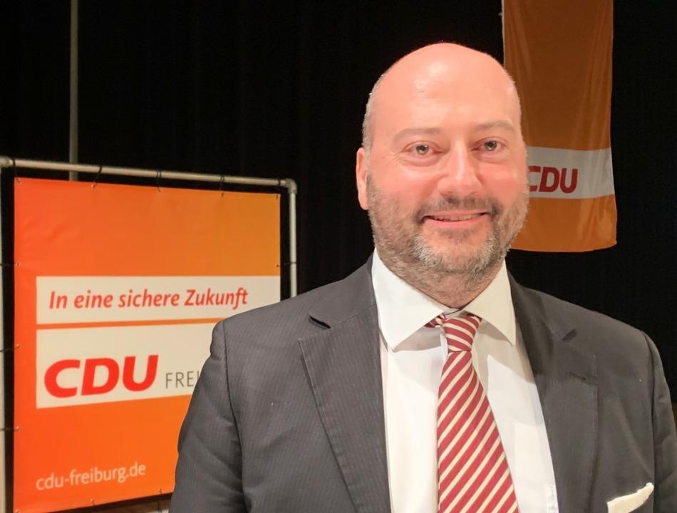 Arndt Michael tritt bei der Wahl am 14...r die CDU im Wahlkreis Freiburg II an.  | Foto: Simone Höhl