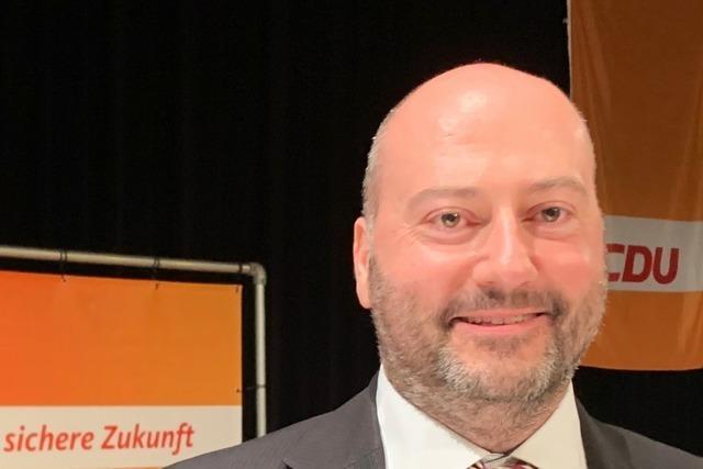 CDU nominiert Arndt Michael im Wahlkreis Freiburg-West für die Landtagswahl
