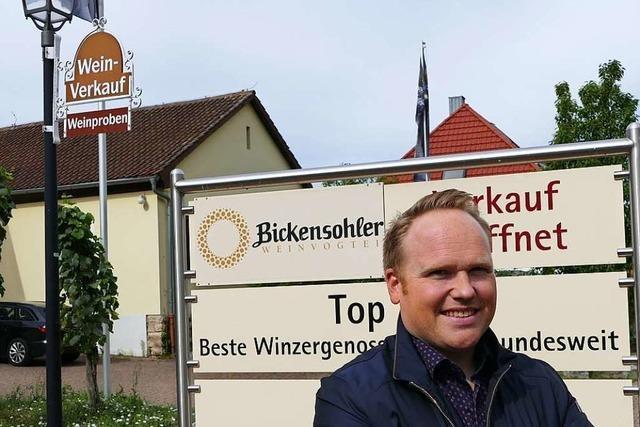 Patrick Chelaifa wird neuer Geschäftsführer der WG Bickensohl