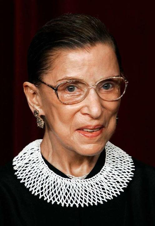 Ruth Bader Ginsburg im Jahr 2006  | Foto: PAUL J. RICHARDS (AFP)