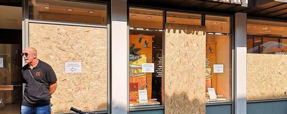 Einbruchsversuch bei Fielmann-Filiale in der Steinstraße