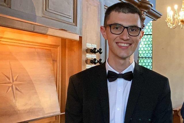 18-Jähriger aus Todtnau studiert Musik – noch bevor er das Abitur hat
