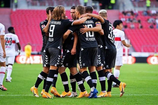 SC Freiburg übersteht spannende Schlussphase und gewinnt erstmals in Stuttgart seit 2011