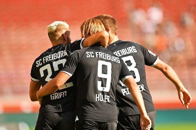 Gegen den VfB stellt die Freiburger Offensive einmal mehr ihre Effizienz unter Beweis