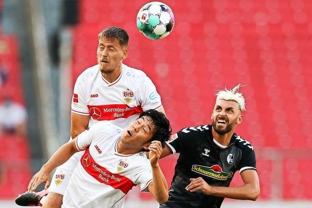 SC Freiburg gelingt in Stuttgart 3:2-Auftaktsieg