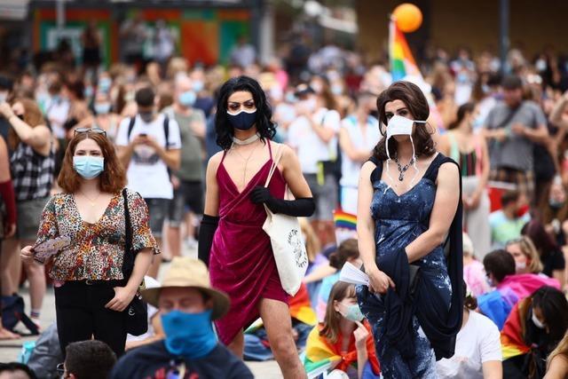 Fotos: So bunt war der Christopher Street Day in Freiburg