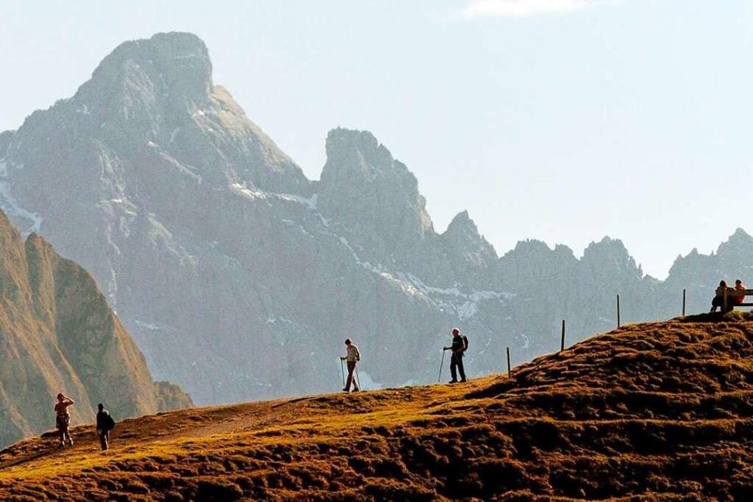 Goldene Tage: Auch im Oktober lassen s...n den Alpen noch schöne Touren machen.    Foto: Stefan Puchner