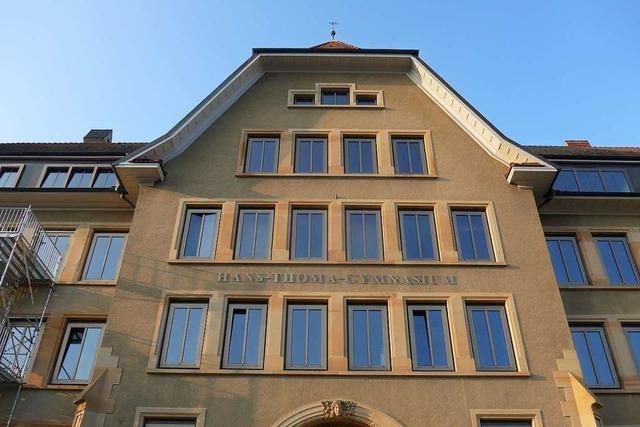 Zwei Corona-Fälle am HTG Lörrach - 100 Schüler in Quarantäne