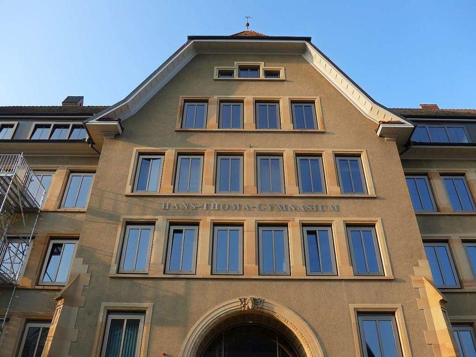 Das HTG in Lörrach    Foto: Daniel Gramespacher