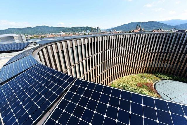 Freiburger Rathaus ist größtes öffentliches Netto-Nullenergie-Gebäude Europas