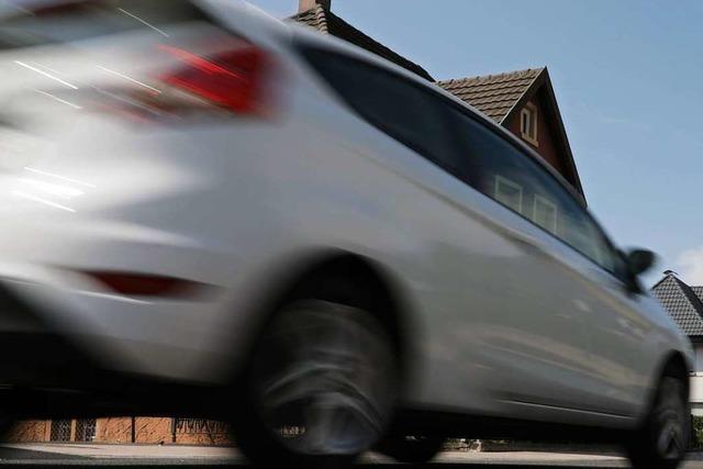Vier neue Messtafeln in Friesenheim sollen Autofahrer sensibilisieren