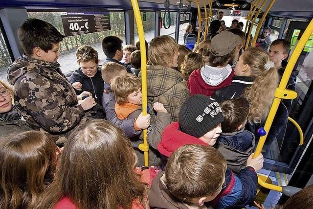 Gegen die Enge im Bus