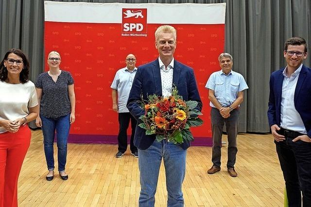 Peter Schallmayer geht bei der Landtagswahl für die SPD ins Rennen