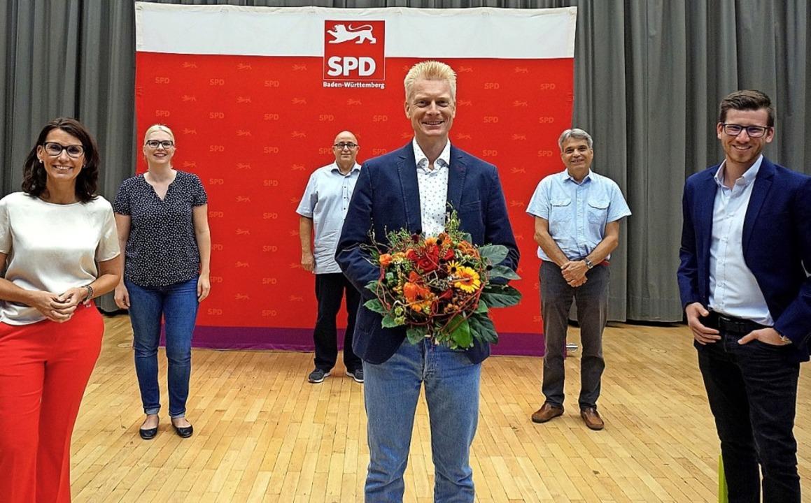 <BZ-Keyword>Die SPD</BZ-Keyword> zieht...weizer  und Zweitkandidat Nico Kiefer.  | Foto: suedkurier