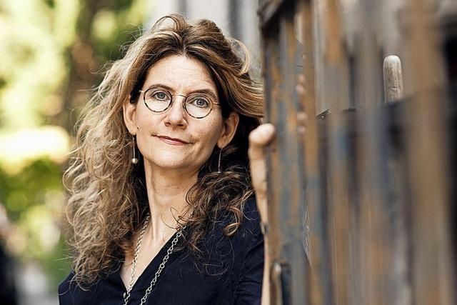 Anna Katharina Hahn liest in der Rainhof Scheune aus ihrem Roman