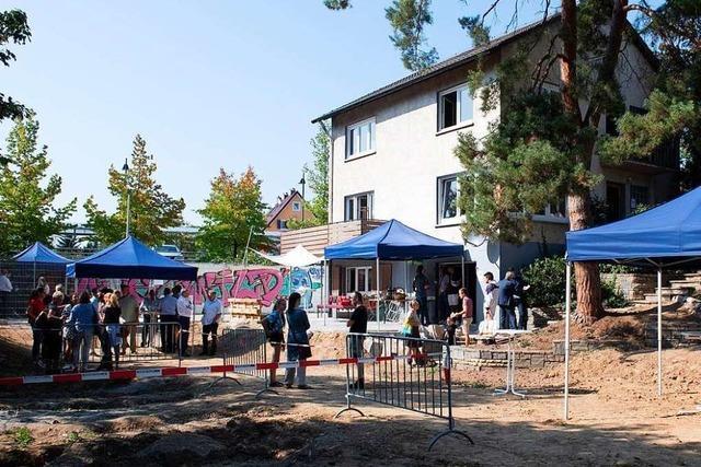 Neues Jugendhaus an der Bismarckstraße in Müllheim ist eröffnet