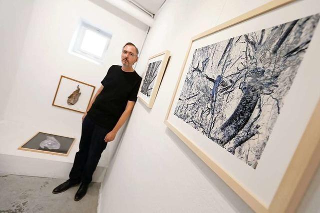 Johannes Traub stellt in der Lahrer Galerie L'art pour Lahr aus