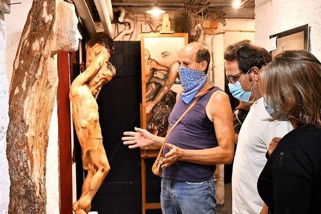 Trotz Hygieneregeln: Viele Besucher kommen zur Nacht der offenen Ateliers