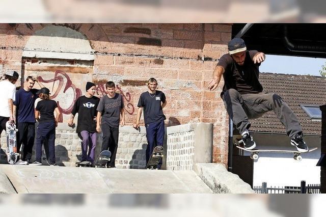 Skate-Contest im Schlachthof