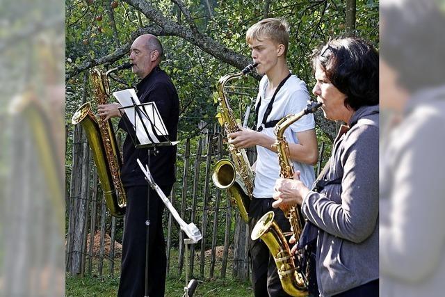 Musikalisches Wochenende im Tal und im Ried