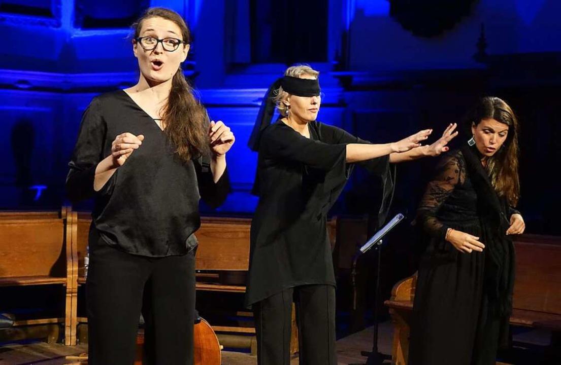 Von Blinde-Kuh-Spielen und amourösen D...usik-Ensembles Concerto di Margherita.  | Foto: Roswitha Frey