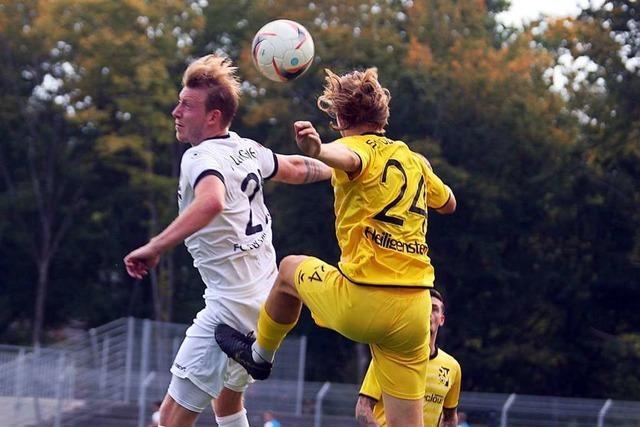 Effiziente Minimalisten des FC 08 Villingen feiern vierten Saisonsieg
