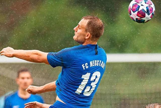 FC Neustadt kassiert kurz vor Schluss den Ausgleich