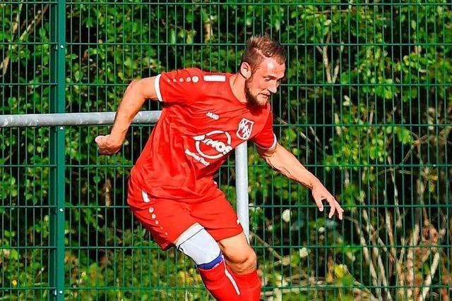 Tim Rüdiger trifft für den FC Lenzkirch viermal